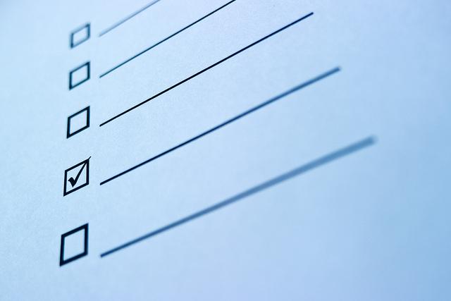 チェックリストを活用するための3つのポイント