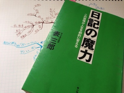 「日記の魔力」ー 行動日記で自己をコントロールする [書評]