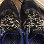 結ばない靴紐 CATERPYRUN (キャタピラン) ー スポーツクラブのシューズに使ってみました