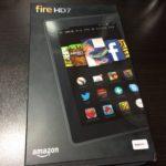 Kindle Fire HD 7 ー Amazon製の格安タブレットは自宅利用に性能十分