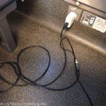 新幹線での充電にはUSB延長ケーブルが便利