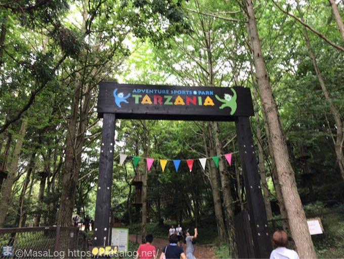 ターザニアのゲート