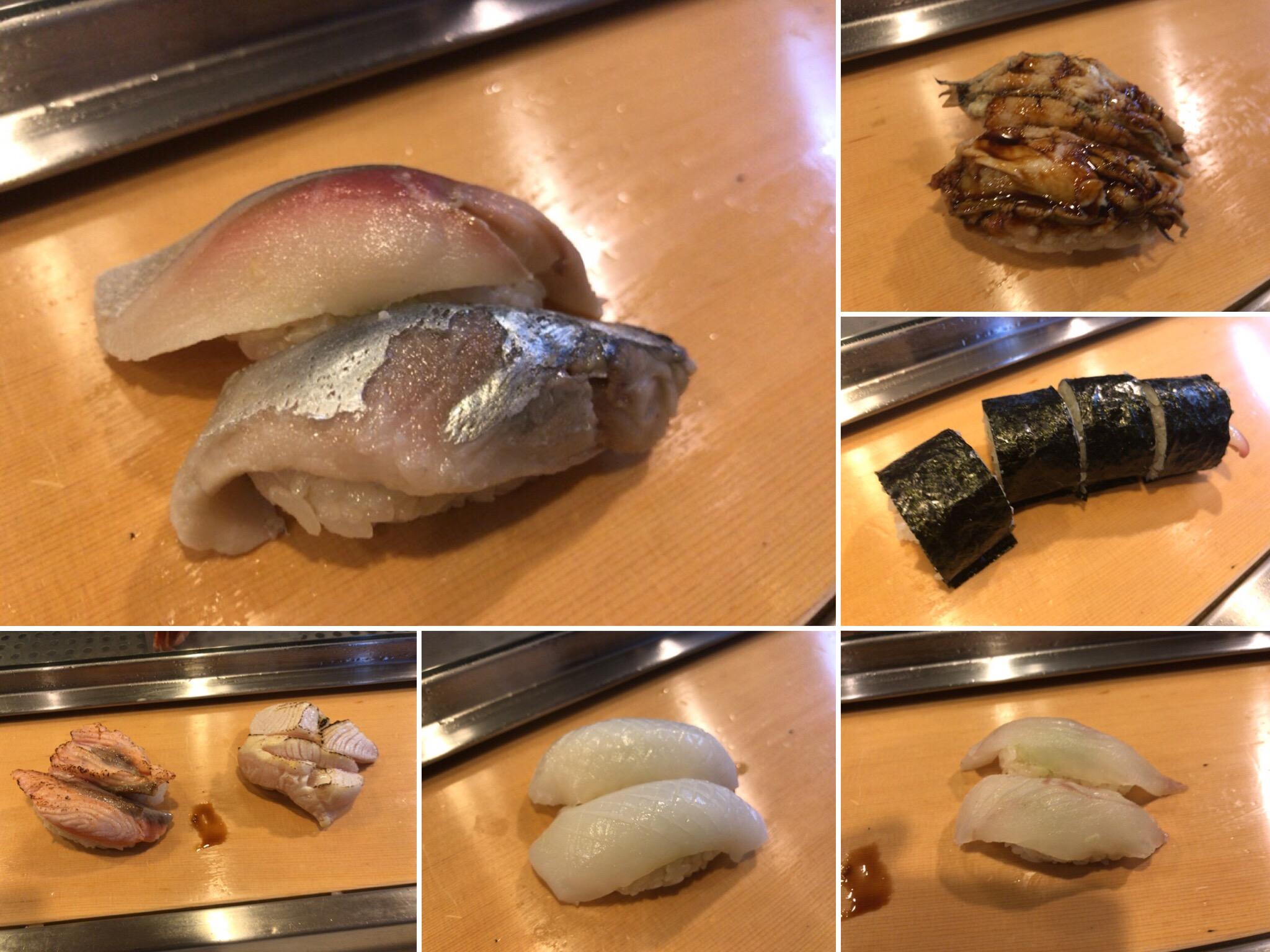 栄寿司のネタ