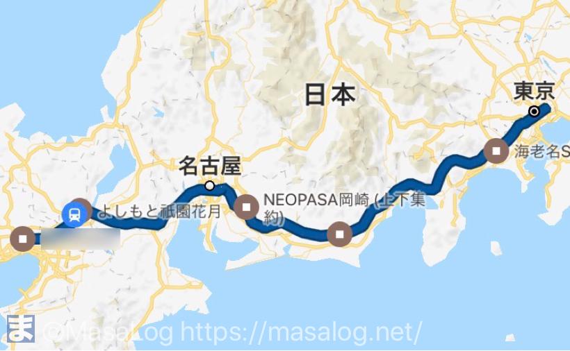 新東名で京都まで